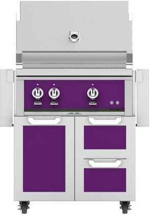 Hestan  852053 Liquid Propane Grill Purple, Main Image