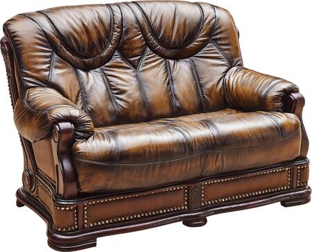 ESF Oakman I1333 Loveseat Brown, OAKMAN2