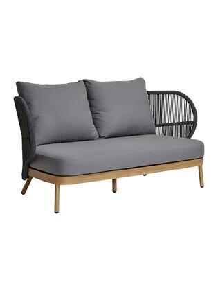 Florida Seating Jumbo JUMBO2SSF Outdoor Patio Sofa Gray, jumbo 2 seater sofa