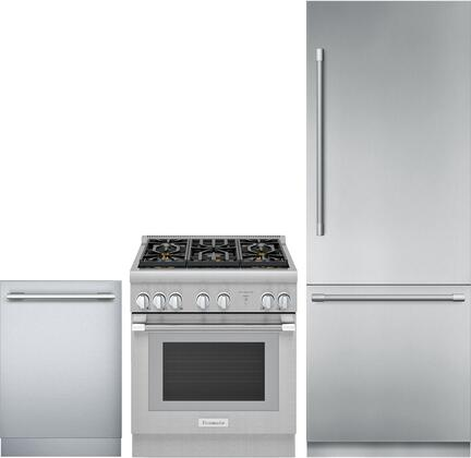 Thermador  1311292 Kitchen Appliance Package Stainless Steel, Main image