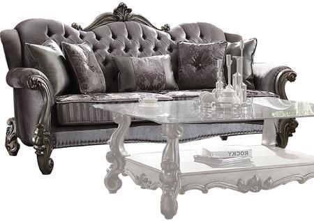 Acme Furniture Versailles 56840 Stationary Sofa Gray, 1