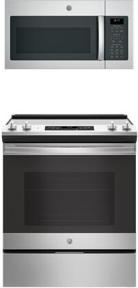 GE  845670 Kitchen Appliance Package Stainless Steel, main image