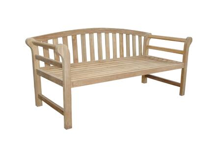 Anderson Brisbane DS183BH8300 Patio Bench Brown, DS-183BH-8300 Main