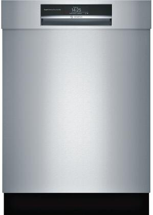 """Bosch SHEM78WH5N 24"""" 800 Series Dishwasher with 16 Place Settings 8 Cycles 7 Options 42 dBA Noise Level Flexible 3rd Rack"""