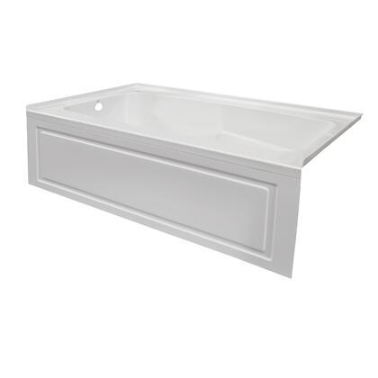 Valley Acrylic Signature Collection STARK7232SKLWHT Bath Tub White, Main Image