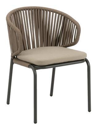 Florida Seating Captiva CAPTIVASCH Patio Chair Brown, captiva s anthracite taupe