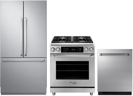 Dacor  878446 Kitchen Appliance Package Panel Ready, main image