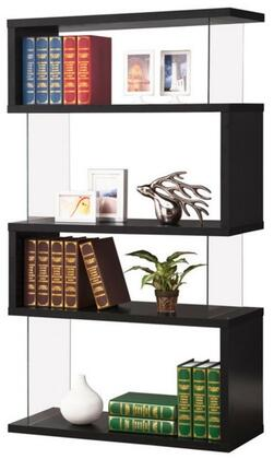 Coaster Bookcases 800340 Bookcase Black, Main Image
