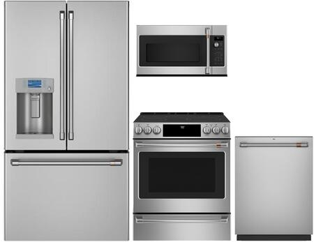 Cafe  1066269 Kitchen Appliance Package Stainless Steel, main image