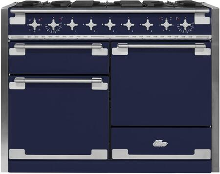 AGA Elise AEL48DFBLB Freestanding Dual Fuel Range Blue, AEL48DFBLB Dual Fuel Range
