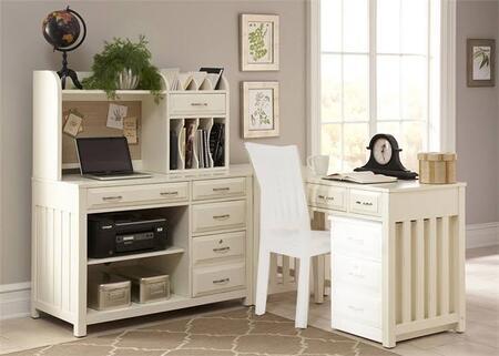 Liberty Furniture Hampton Bay 715HOCDS Desk White, Main Image