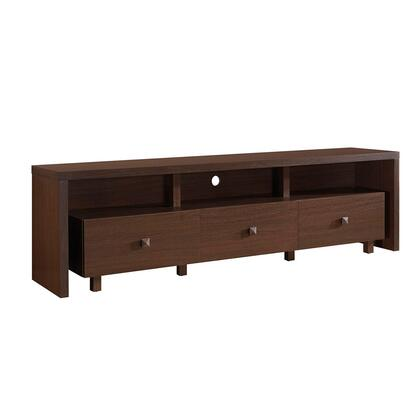 RTA-8895-HRY Elegant TV Stand for TV's Up To 75″ with Storage  in