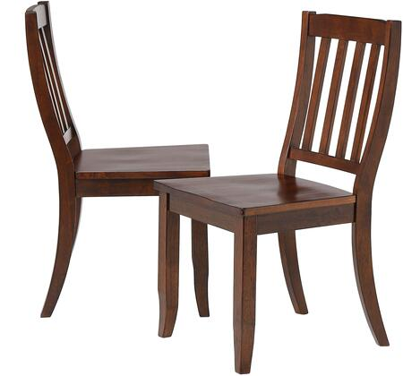 Sunset Trading Andrews DLUADWC20CT2 Dining Room Chair Brown, DLUADWC20CT2 Main View