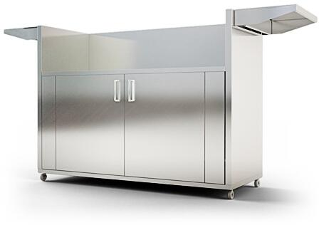 RCS RONKC Grill Cart Stainless Steel, Main Image