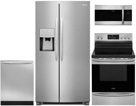 Frigidaire 959933 Kitchen Appliance Package & Bundle Stainless Steel, main image