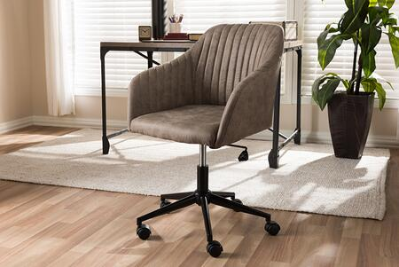 Wholesale Interiors  SDR2816B5LIGHTBROWN Office Chair , 8046 7