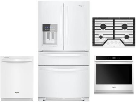 Whirlpool 1054271 Kitchen Appliance Package & Bundle White, main image