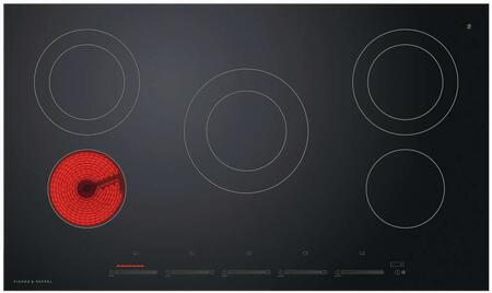 Fisher Paykel 5 Series CE365DTB1 Electric Cooktop Black, CE365DTB1 Electric Cooktop