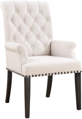 Coaster Weber 107283 Dining Room Chair Beige, Main Image