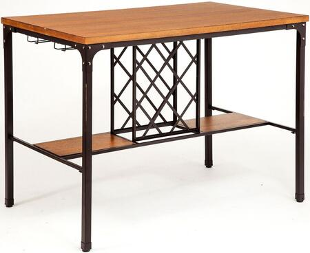 Acme Furniture Dora 72285 Bar Table Brown, 1