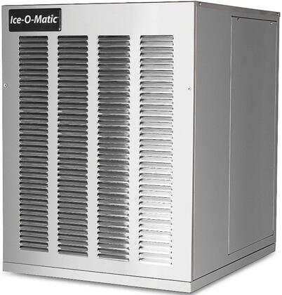 Ice-O-Matic  GEM0650A Commercial Modular or Ice Machine Head Stainless Steel, Angled Front and Side View