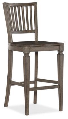 Hooker Furniture Woodlands 58207536084 Bar Stool, Silo Image