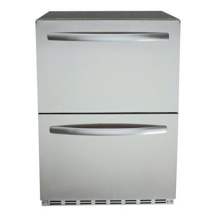 RCS REFR4 Drawer Refrigerator Stainless Steel, Main Image