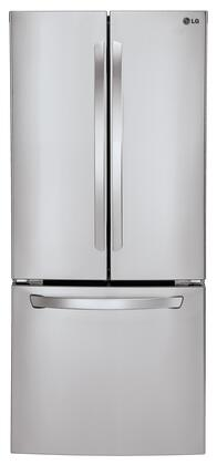 LG  LFC22770ST French Door Refrigerator Stainless Steel, Front