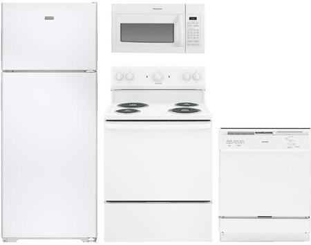 Hotpoint 890763 Kitchen Appliance Package & Bundle White, Main Image