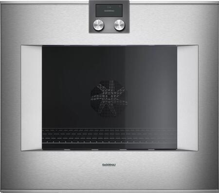 Gaggenau 400 Series BO481613 Single Wall Oven Stainless Steel, Main Image