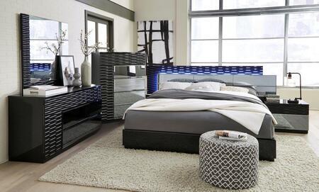Global Furniture USA Manhattan 5 Piece Queen Size Bedroom Set