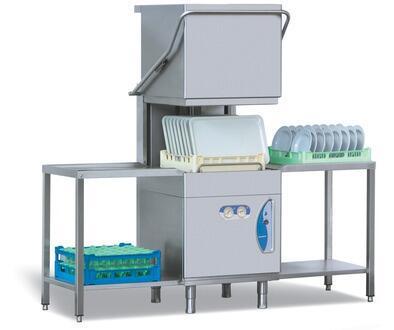L25EKS 3PH Restaurant Commercial Pass Through Upright Dishwasher Gravity