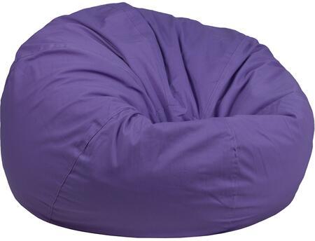 Flash Furniture DGBEAN DGBEANLARGESOLIDPURGG Bean Bag Chair Purple, DGBEANLARGESOLIDPURGG