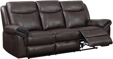 Furniture of America Chenai CM6297SF Motion Sofa Brown, Main Image
