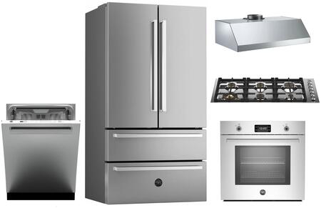 Bertazzoni 1054789 Kitchen Appliance Package & Bundle Stainless Steel, main image