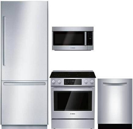 Bosch Benchmark 1052218 Kitchen Appliance Package & Bundle Stainless Steel, main image