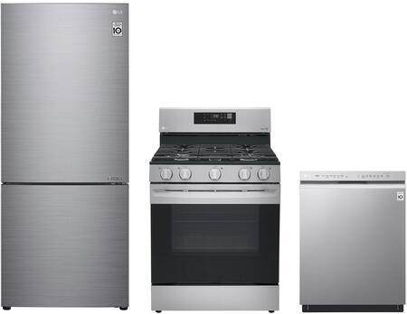 LG 1102840 Kitchen Appliance Package & Bundle Silver, main image