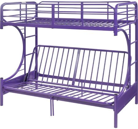 Acme Furniture Eclipse 02081PU Bed Purple, 1