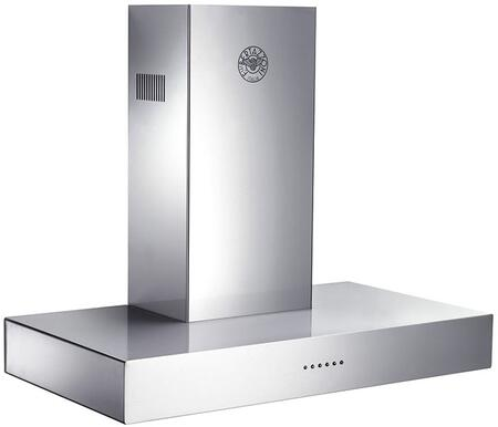 Bertazzoni Professional K36CONX14 Wall Mount Range Hood Stainless Steel, K36CONX14  Professional Series 36 Inch Wall Mount Convertible Hood