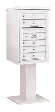Salsbury Industries 3407S05WHT Commercial Mailboxes, 3407S-05WHT Main