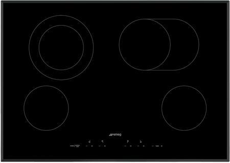 Smeg  SEU304EMTB Electric Cooktop Black, Main Image