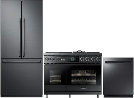 Dacor  938328 Kitchen Appliance Package Graphite Stainless Steel, 1