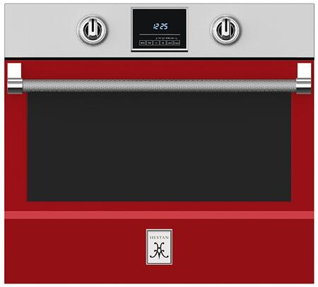 Hestan  KSO30RD Single Wall Oven Red, 1