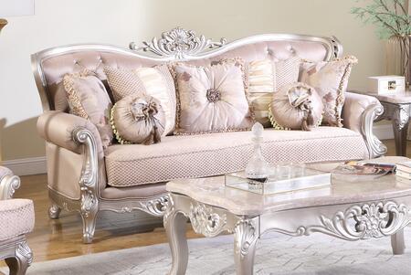 Cosmos Furniture Daisy 3035BGDAI Stationary Sofa White, DL cac01a858e5edb6ed323c7c25c5e