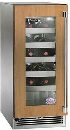 Perlick Signature HP15WO44LL Wine Cooler 25 Bottles and Under Panel Ready, Main Image