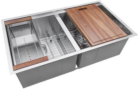 Ruvati Roma RVH8350 Sink Stainless Steel, 1
