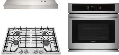 Frigidaire  1107787 Kitchen Appliance Package Stainless Steel, Main image