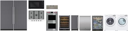 Appliances Connection Picks  1450626 Kitchen Appliance Package White, main image