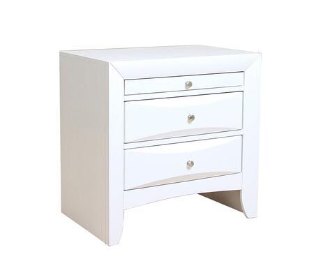 Acme Furniture Ireland 21704 Nightstand White, Main Image