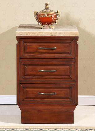 Silkroad Exclusive HYP0219TM Sink Vanity Brown, 1